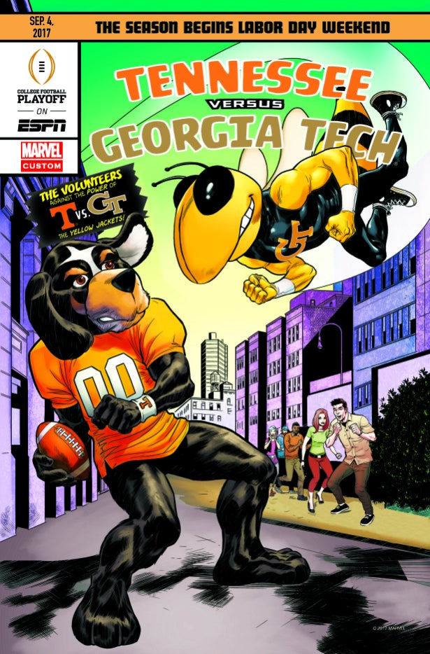 Marvel & ESPN Present 2017 College Football Kickoff Comic ...