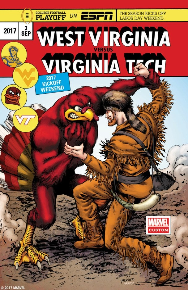 Marvel Comics College Football Kickoff Weekend - West Virginia vs Virginia Tech