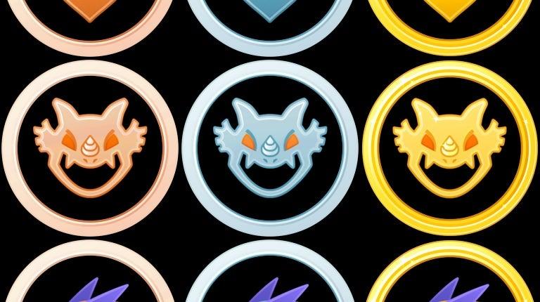 pokemon go medal