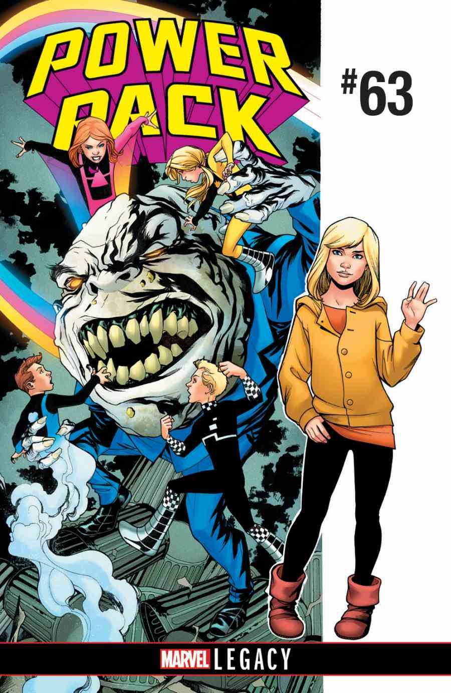 Power Pack 63 Marvel Legacy