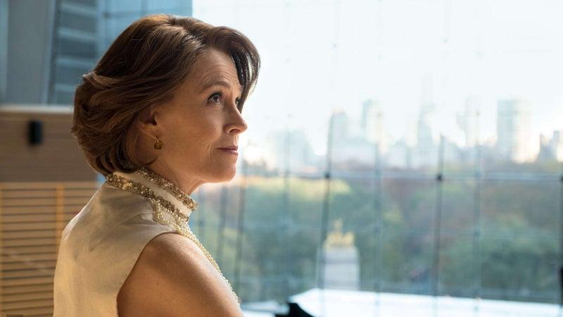 Sigourney Weaver as Alexandra in Marvel's The Defenders