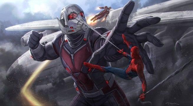 Spider-Man Ant-Man