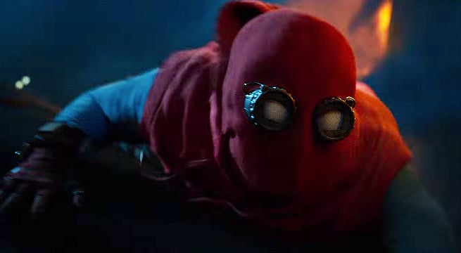 spider man homecoming homemade suit