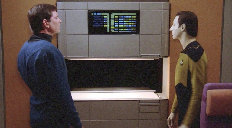 Star Trek The Next Geneartion Replicators