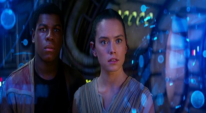 Star Wars Rey and Finn