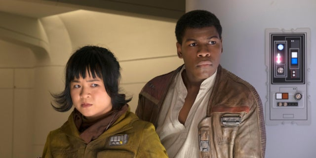 Star Wars The Last Jedi Kelly Marie Tran and John Boyega