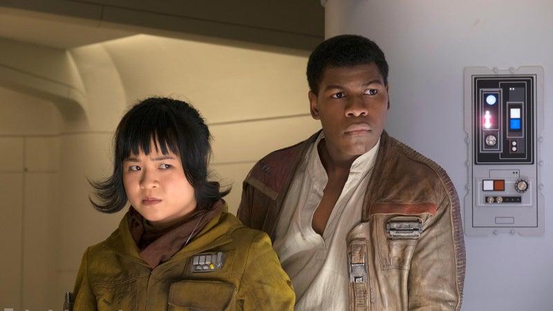 Star Wars The Last Jedi Kelly Marie Tran and John Boyega