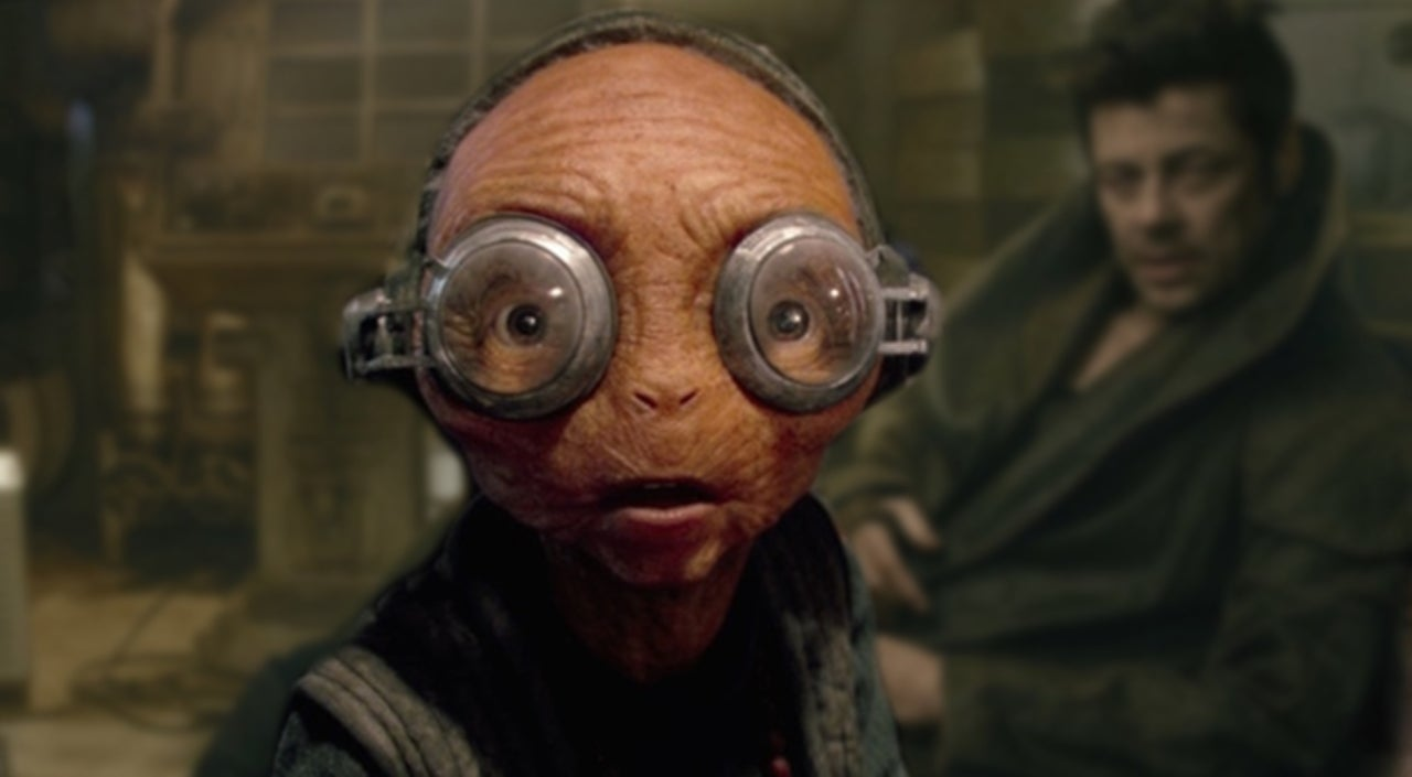 Star Wars: The Rise of Skywalker Reveals First Look at Maz Kanata