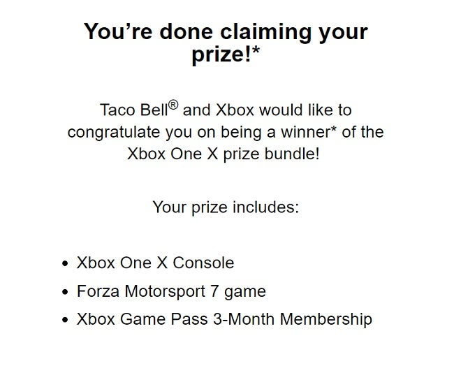 taco bell xbox one x giveaway taco bell s xbox one x giveaway promotion begins today 1676