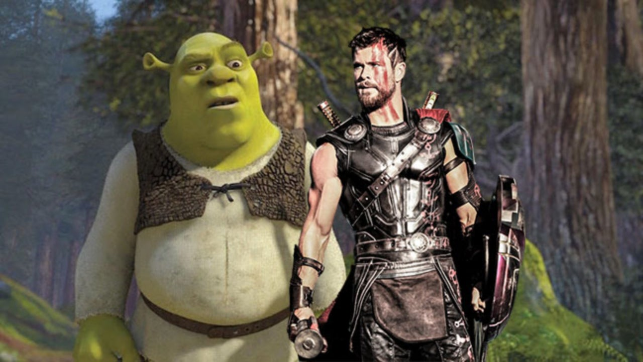 Shrek Aims to Stop Ragnarok in This Amazing Mashup