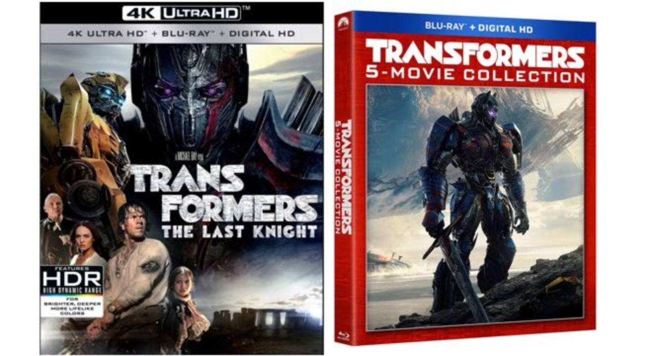 transformers the last knight blu ray details include an explosive 5