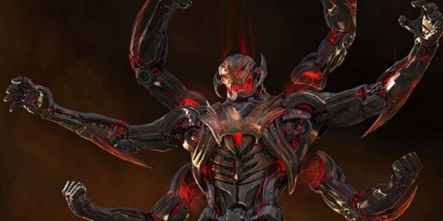 Ultron MCU Alternate Design Six Arms