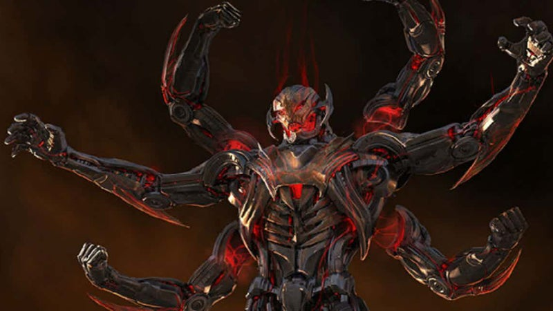 Ultron MCU Alternate Design Six Arms