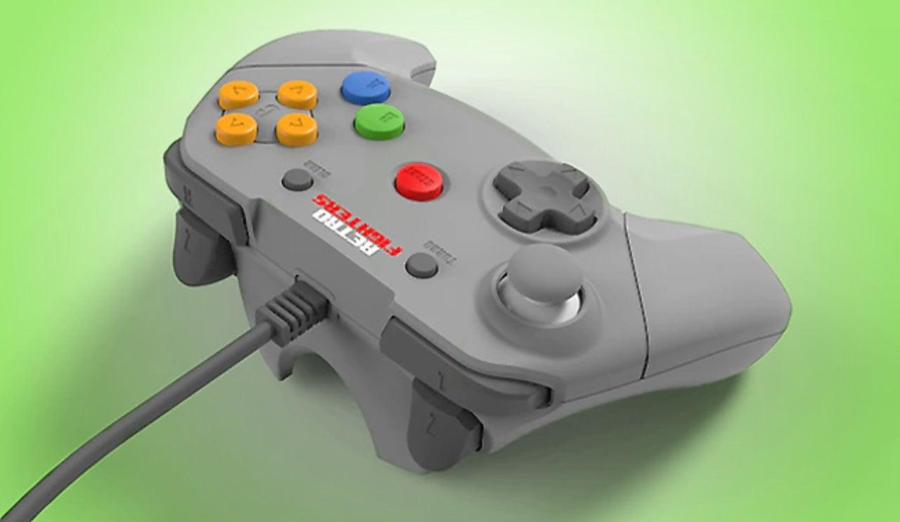 Nintendo 64 Controller Gets A Modern Update Courtesy Of A