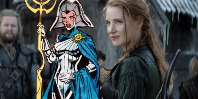 X-Men Dark Phoenix Jessica Chastain Lilandra