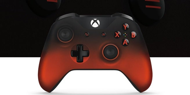 xbox controller red