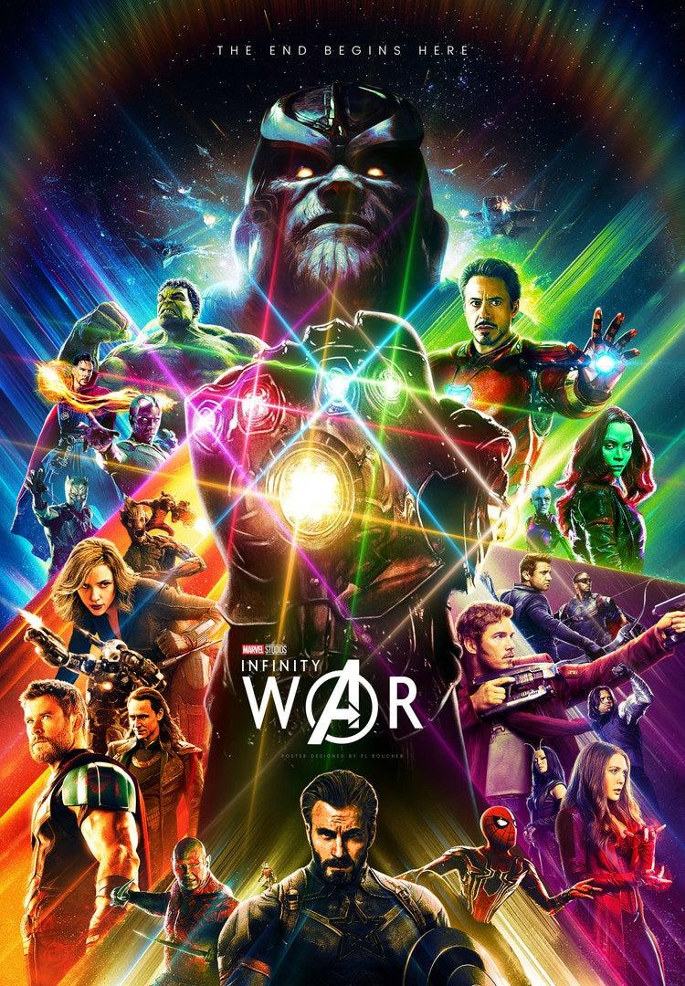 Avengers Infinity War Marvel Universe Avengers Movie Poster