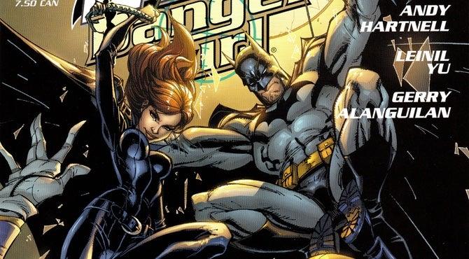 batman danger girl cover