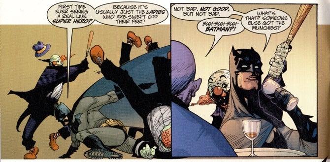 batman has the munchies
