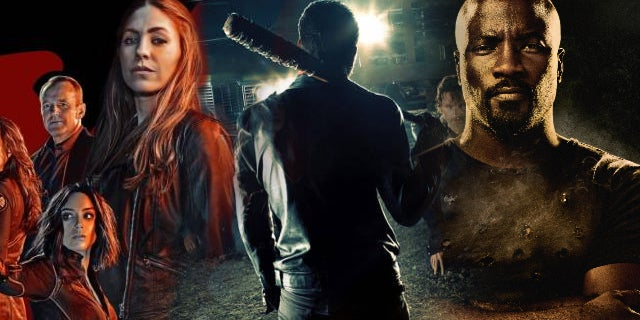 comic book tv emmys 2017 shield the walking dead luke cage
