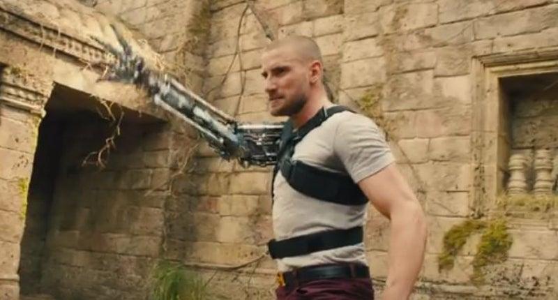 Cyborg Charlie in Kingsman 2