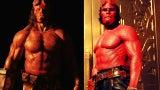 David Harbour Hellboy vs Ron Pearlman Hellboy