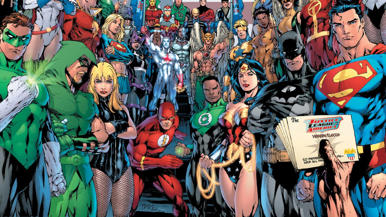 dc comics characters