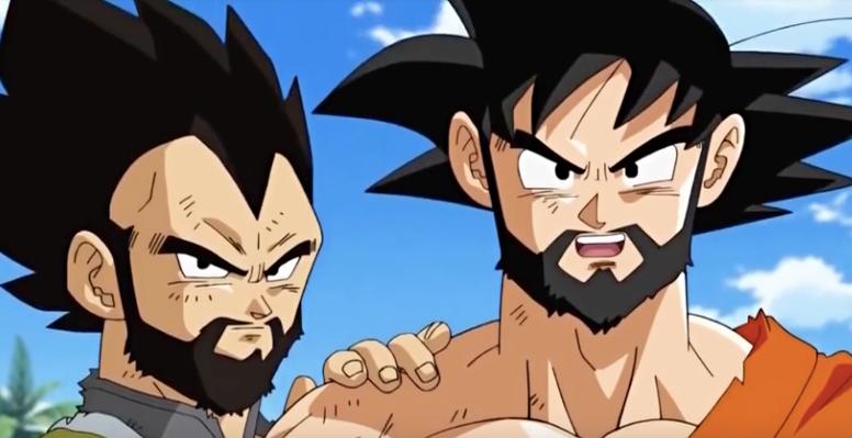 Dragon Ball Super Just Gave Goku Vegeta Some Serious Facial Hair