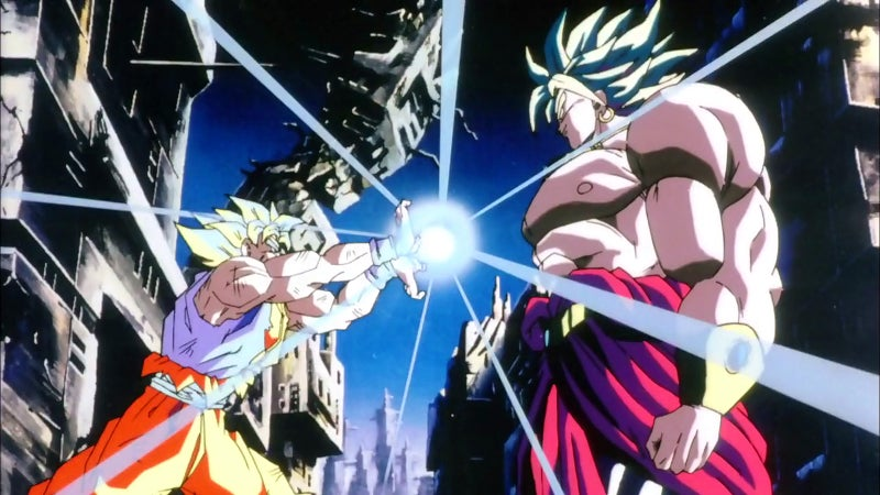 Dragon Ball Broly Strongest Fighter Universe 7