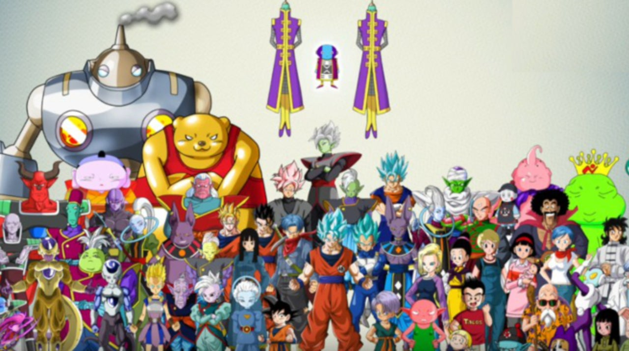This Dragon Ball Super Chart Breaks Down The Tournament Of S Gest Stars