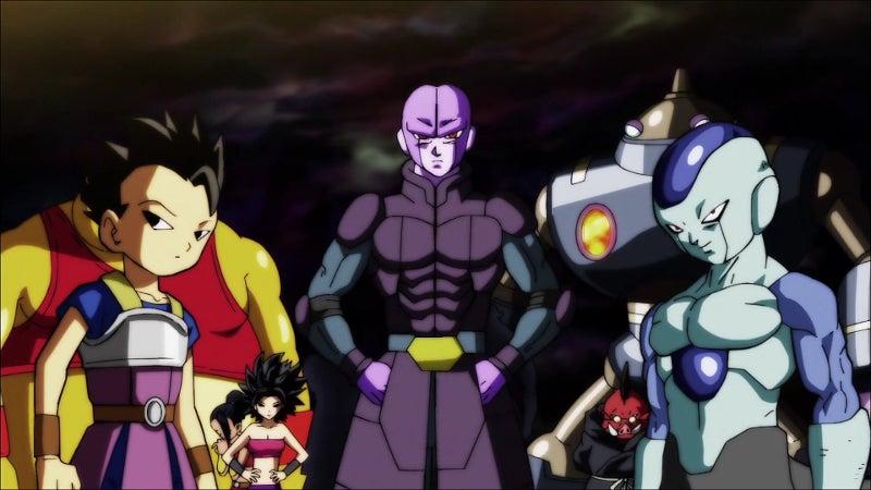 Dragon Ball Super Universe 6 Fighters Frost Freeza Fusion