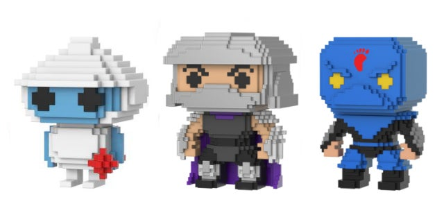 funko video games tmnt shredder
