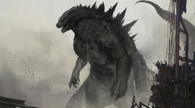Godzilla 2 Design