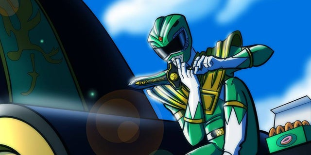 Green-Ranger-Dragonzord-Art