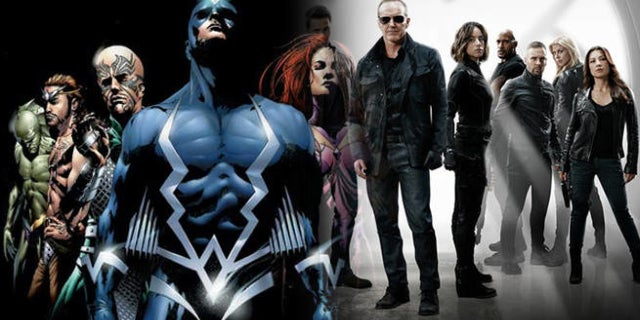 Inhumans TV Series Agents SHIELD Connections