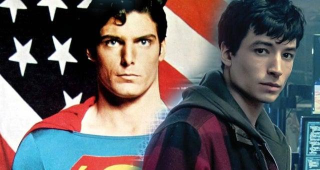 justice league flash superman the movie