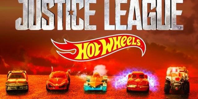 justice league movie hot wheels