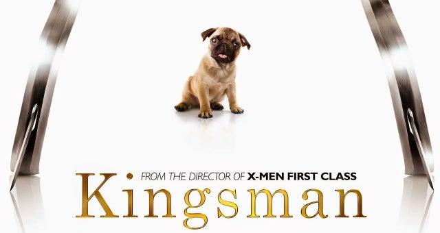 kingsman dog pug