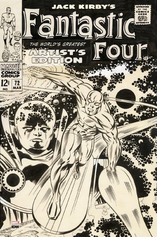 Kirby Fantastic Four Artists Edition