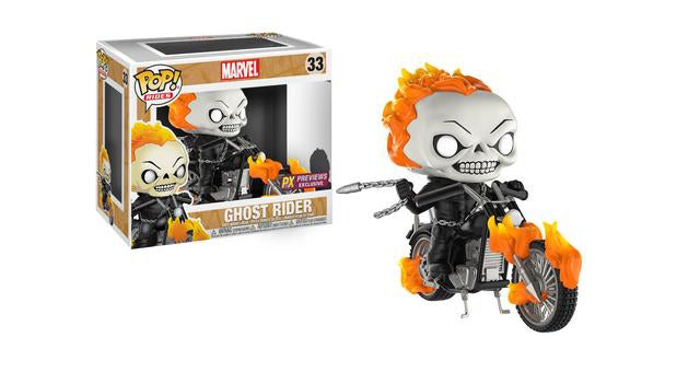marvel funko ghost rider pop ride
