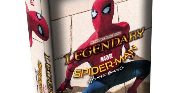 marvel legendary deck building game spider man homecoming
