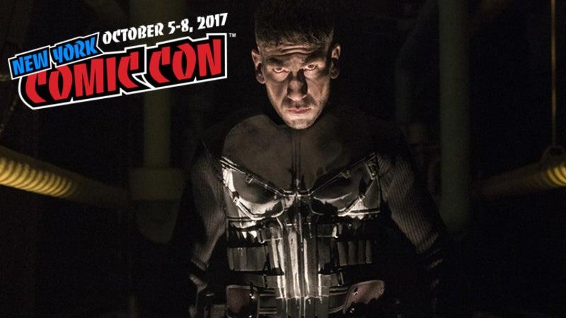 Marvel Punisher Netflix Premiere NYCC 2017