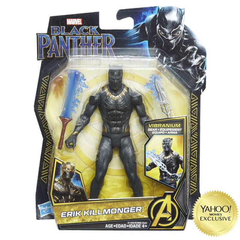 Marvel's Black Panther Killmonger Black Panther Suit