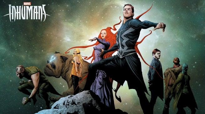 Marvel's Inhumans Poster Artwork