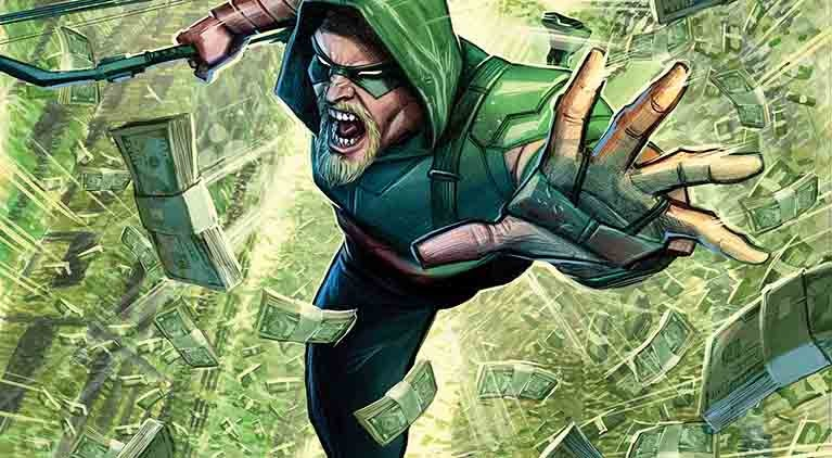 moving target green arrow interview