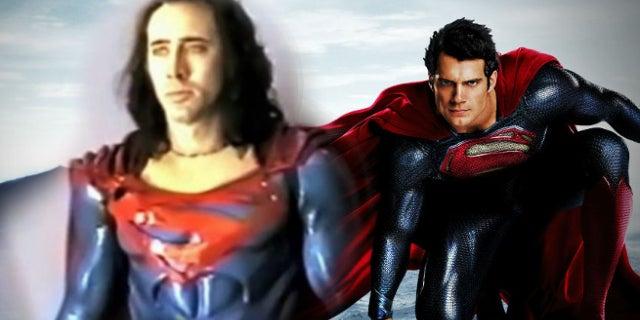 Nic Cage Says Superman Lives Best Superman Movie