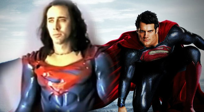 Nic Cage Says Superman Lives Best Superman Movie