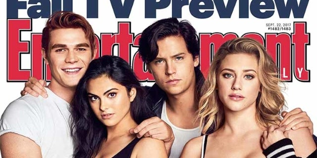 riverdale entertainment weekly cover