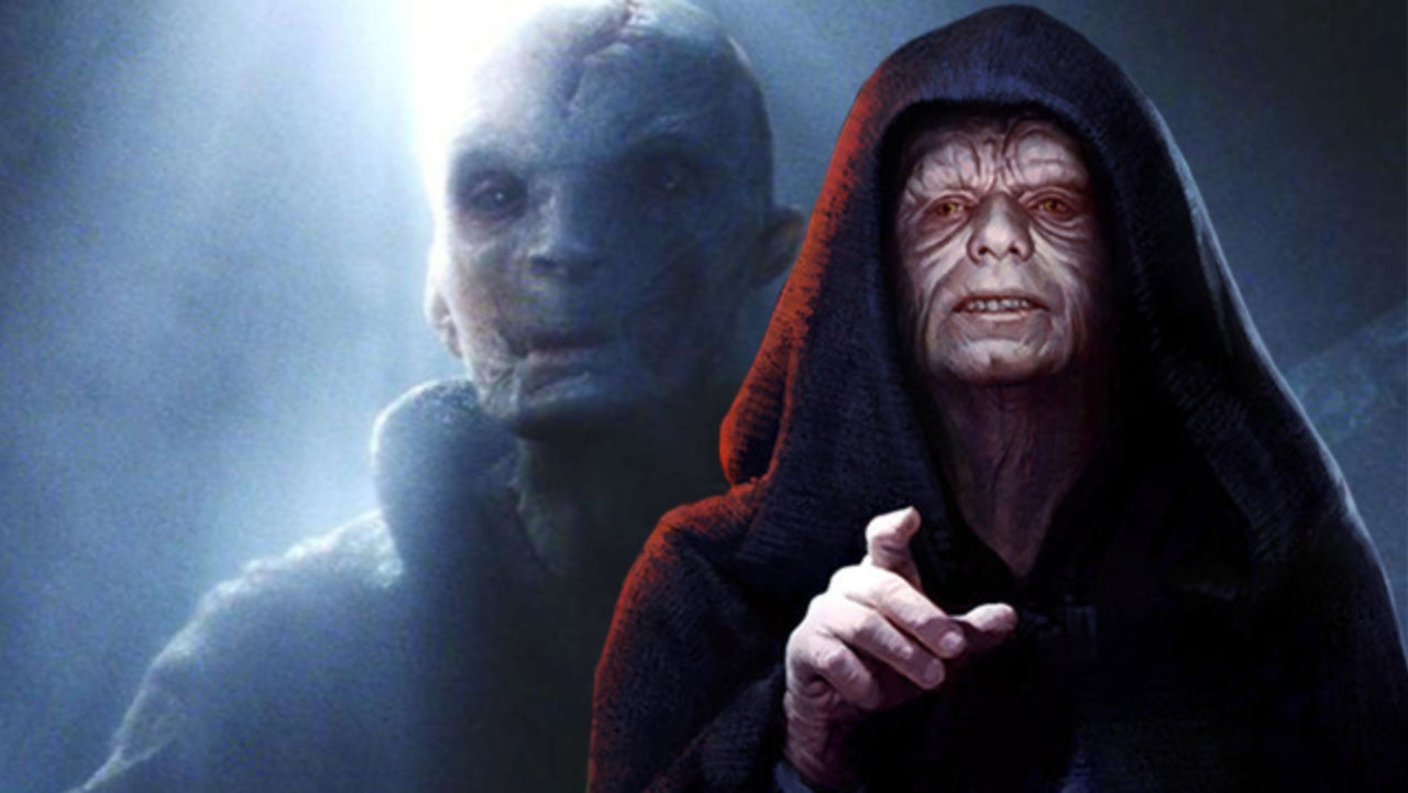 This Star Wars: The Rise of Skywalker Theory Could Rewrite Snoke's Role in the Saga