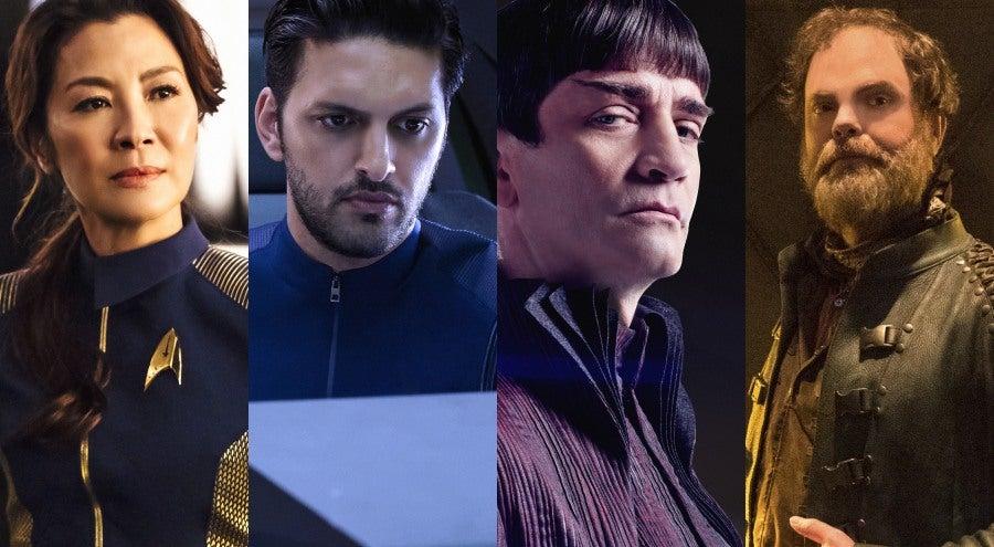Star Trek Discovery Cast Federation